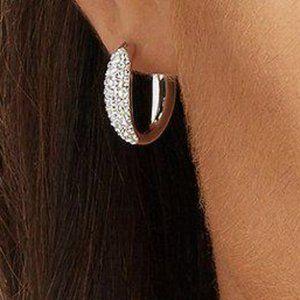 Swarovski 5153433 Circlet Small Hoop Pierced Earri